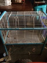 Rabbit Cage in Fort Knox, Kentucky