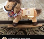 Rocking/Rolling Pony in Fort Bliss, Texas