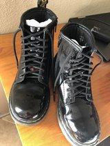 Dr. Martens Delaney Boots / Under Amour Sneakers in 29 Palms, California