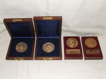 Official Presidential Inauguration Commemorative Medal Coins in Naperville, Illinois