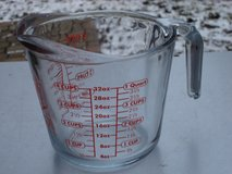 FOUR CUP  GLASS ANCHOR HOCKING MEASURING CUP in Yorkville, Illinois