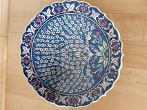 Decorative Turkish Hand-painted Plate in Stuttgart, GE