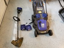 Kobalt Cordless Lawn Mower and Trimmer in Fort Leonard Wood, Missouri