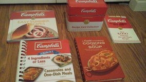 Campbell's Soup Recipe & Recipe Card Tin Collection Cookbooks in St. Charles, Illinois