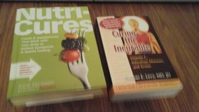 2 Book Set  Nutri Cures and Curing the Incurable in Batavia, Illinois