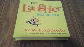 Hard Covered Book Readers Digest Laughter The Best Medicine  Joke Book in Bolingbrook, Illinois