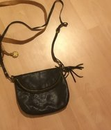 Crossbody Purse  Black Italian Leather in Stuttgart, GE