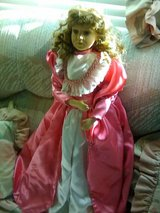 "30"" Porcelain Victorian Doll in Yucca Valley, California"
