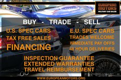 TAX FREE Military Car Sales - Buy | Sell | Trade in Stuttgart, GE