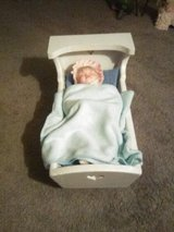 Porcelain Doll in Cradle in Yucca Valley, California