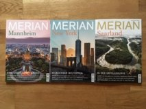MERIAN Magazine CURRENT subscription in Stuttgart, GE