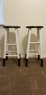 2 Chair stools in Fort Irwin, California