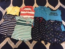 Boys Size 9 Month Rompers in Kingwood, Texas
