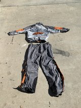 Harley Davidson rain gear in Camp Pendleton, California