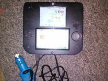 Nitendo 2ds with car charger in DeRidder, Louisiana