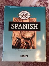 Berlitz Spanish Cassette Tapes from beginner level on in Camp Lejeune, North Carolina