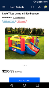 Fisher price bouncy house in Fort Knox, Kentucky