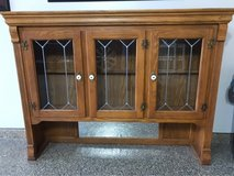 Solid Oak Hutch Top in Kingwood, Texas