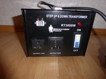 Heavy Duty Step Up/Step Down Voltage Transformer 3000 Watt in Stuttgart, GE