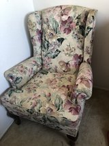 Wing Back Chair in Camp Pendleton, California