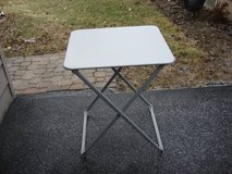 "22"" BY 24 "" FOLDING TABLE  / WORK  STAND ? in Bartlett, Illinois"