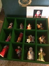 Franklin Mint Santa Ornaments in Elgin, Illinois