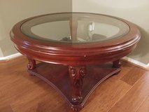 Coffee Table with glass cover in Fort Sam Houston, Texas