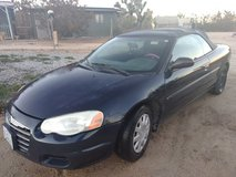 2006 Chrysler Sebring Convertible mechanics special $999 Or Best Reasonable Offer in Yucca Valley, California