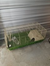 BUNNY CAGE, food, water bottle, and bedding!! in Camp Lejeune, North Carolina