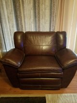 leather reclining couch and big chair recliner in Fort Leonard Wood, Missouri