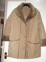 Ladies Coat size 16 by Daxon Brown Beige Padded lined in Cambridge, UK