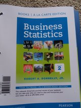 Business Statistics, 2nd Edition in Houston, Texas