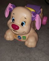 Fisher-Price Laugh & Learn Stride-to-Ride Pink Puppy in Aurora, Illinois