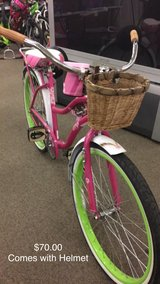 Girls Bike with Helmet in Fort Leonard Wood, Missouri