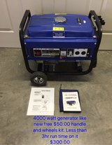 4000w Generator in Fort Leonard Wood, Missouri