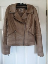 ladies size 10 leather coat in Lakenheath, UK