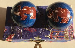 Chinese Chiming Baoding Harmony Stress Relief Balls in Okinawa, Japan