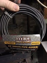 *~* TITAN Drain and Pipe Auger (25 feet) *~* NEW in Tacoma, Washington