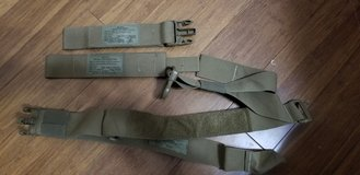 Plate carrier removable belt assembly in Camp Pendleton, California