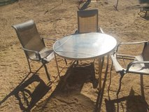 Patio table in Yucca Valley, California