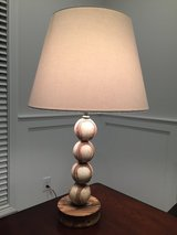 Baseball lamp in Fort Campbell, Kentucky