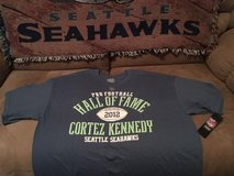 "*~* CORTEZ KENNEDY  ""HALL of FAME"" Team Apparel T-Shirt (Adult Large & XL) *~* NEW with TAGS in Fort Lewis, Washington"