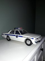 Jim Beam decanter police car in Tinley Park, Illinois