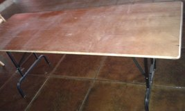 folding table for your next Party or Buffet , 4 pieces in Ramstein, Germany