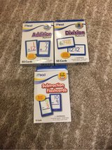 3 boxes of Math Flashcards in Wiesbaden, GE