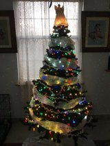 artificial Christmas tree in Fort Leonard Wood, Missouri