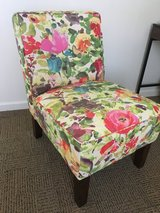 Flower slipper chair- Excellent condition! in Watertown, New York
