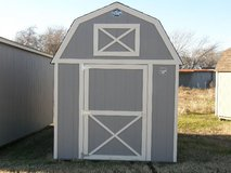 *** NEW ARRIVAL ***    8x12 Lofted Barn in Huntsville, Texas