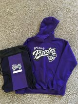 Plank Jr. High Hoodie &  Backpack in Chicago, Illinois