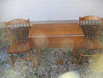 Vintage Hitchcock table, two chairs reduced in Westmont, Illinois